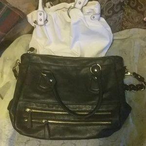 Black Charming Charlie bag with free Nine &Co. Bag